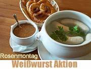 Weißwurst Aktion der Münchner Innenstadtwirte am Rosenmontag (©Foto:Martin Schmitz)